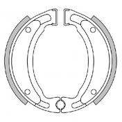 BRAKE SHOE POLINI ORIGINAL FOR MBK 50 STUNT -REAR-, OVETTO -REAR-, X-LIMIT -REAR-/YAMAHA 50 SLIDER -REAR-, NEOS -REAR-, DTR -REAR-/CPI 50 HUSS-REAR- -REAR-, OLIVER -REAR-/MALAGUTI 50 F12 -REAR- (176.1205)