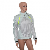 JACKET HEVIK ALFA LADY GREY/YELLOW FLUO S (SPRING OR SUMMER)