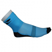 CYCLING SOCKS-SUMMER-COTTON- BLUE SKY 44/47 EURO-HEIGHT 10 cm (PAIR)