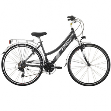 Hybrid Bike 28 Jumpertrek Discovery Aluminium Lady 21 Speed