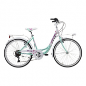"CITY BIKE 24"" JUMPERTREK LIBERTY STEEL 6 SPEED BLUE/WHITE SIZE 41 (SHIMANO RS-35+TY-21)"