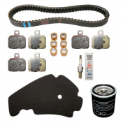 MAINTENANCE KIT FOR MAXISCOOTER X9 125 EVO 2005> (WITH 3 BREMBO BRAKE PADS SET 647077) -PIAGGIO GENUINE PART -