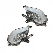 TURN SIGNAL FOR MAXISCOOTER YAMAHA 530 TMAX 2012> TRANSPARENT (LEDS) REAR (PAIR) -P2R-