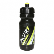 BOTTLE- RACE ONE XR1 BLACK/YELLOW FLUO 600ML BIODEGRADABLE