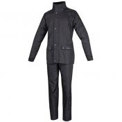 RAIN SUIT TUCANO SET DILUVIO PLUS BLACK XL (PANTS+JACKET)(EPI CE 1st category- APPROVED EN 14360:2004)