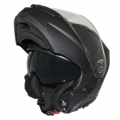 HELMET- FLIP-UP ADX M3 DOUBLE VISORS BLACK MATT XXL