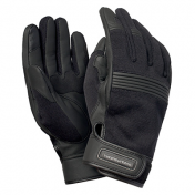 GLOVES- SPRING/SUMMER TUCANO 2018 BOB BLACK T 9 (M) (APPROVED EN13594) (TOUCH SCREEN FUNCTION)