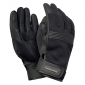GLOVES- SPRING/SUMMER TUCANO 2018 BOB BLACK T11 (XL) (APPROVED EN13594:2015) (TOUCH SCREEN FUNCTION)
