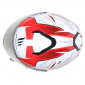 CASQUE INTEGRAL MT THUNDER 3 SV EFFECT NACRE BLANC ROUGE BRILLANT XL DOUBLE ECRANS PINLOCK READY