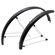 MUDGUARD FOR ATB-ON STAYS- 24'' STRONGLIGHT COUNTRY 54mm -BLACK- (COMPLETE SET)