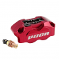BRAKE CALIPER VOCA G-FORCE RACING 4 PISTONS - RED