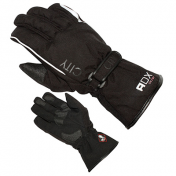 GLOVES ADX-WINTER CITY BLACK T 6 (XXS) ( POLYESTER/POLAR FLEECE LINING)