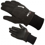 GLOVES ADX - MID SEASON RACER BLACK T 7 (XS) (POLYESTER SOFTSHELL + LEATHER)