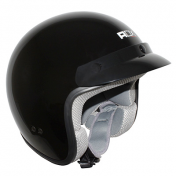 HELMET-OPEN FACE ADX CLASSIC GLOSSY BLACK XL