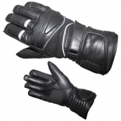 GLOVES ADX-WINTER CHRONO T 8 (S) (100% LEATHER + SCHOELLER KEPROTEC + HIPORA + THINSULATE + RUBBER SCRAPER)