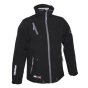 JACKET ADX MAINSTREET BLACK L WITH PROTECTIONS/WITHOUT BACK PROTECTION