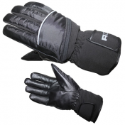 GLOVES ADX-WINTER FREEWAY T 6 (XXS) (POLYESTER WITH PVC + POLYESTER SOFTSHELL + LEATHER + HIPORA + THINSULATE)