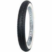 TYRE FOR MOPED 17'' 2.75-17 2 3/4-17 MITAS -WHITE SIDEWALL- B7 TL/TT 47J REINF