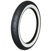 TYRE FOR MOPED 16'' 2.50-16 (2 1/2-16) MITAS -WHITE SIDEWALL- MC2 TL/TT 42J REINF