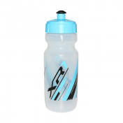 BOTTLE - RACE ONE XR1 WITH CAP - TRANSLUCENT/BLUE SKY 600ML BIODEGRADABLE