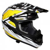 CASQUE CROSS ADULTE ADX MX2 BLAZE JAUNE L
