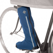 CYCLING SHOE COVER- TUCANO UOSE BLUE WATERPROOF (EURO 36-39) (PAIR) FITS ANY SHOE MODEL