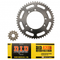 CHAIN AND SPROCKET KIT FOR BETA 50 RR 2002>2004, SM 2002>2004 -DID- 126 LINKS