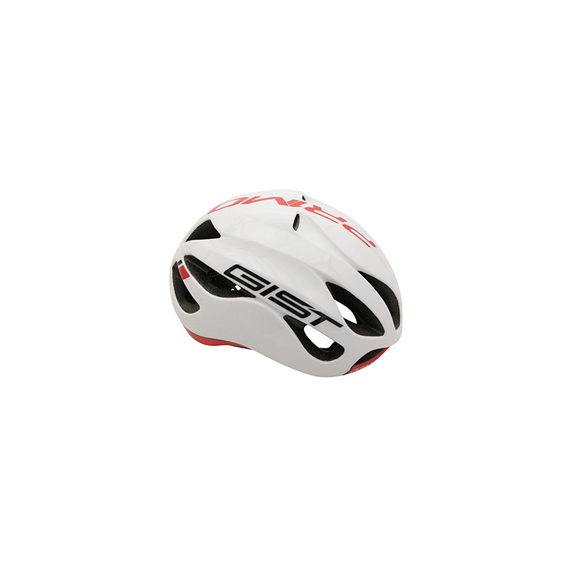 casque velo adulte gist route primo blanc rouge full in. Black Bedroom Furniture Sets. Home Design Ideas