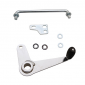 RELAUNCH PEDAL FOR MOPED PEUGEOT 103 MVL-SP/MBK 51 - STEEL - CHROME -SELECTION P2R-