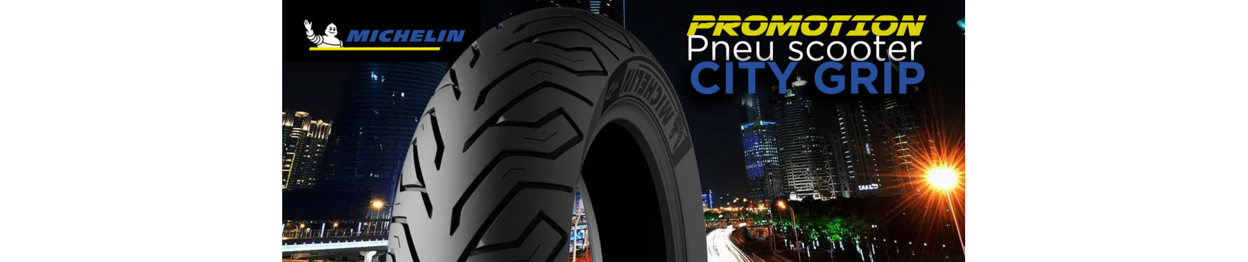 MICHELIN CITY GRIP action